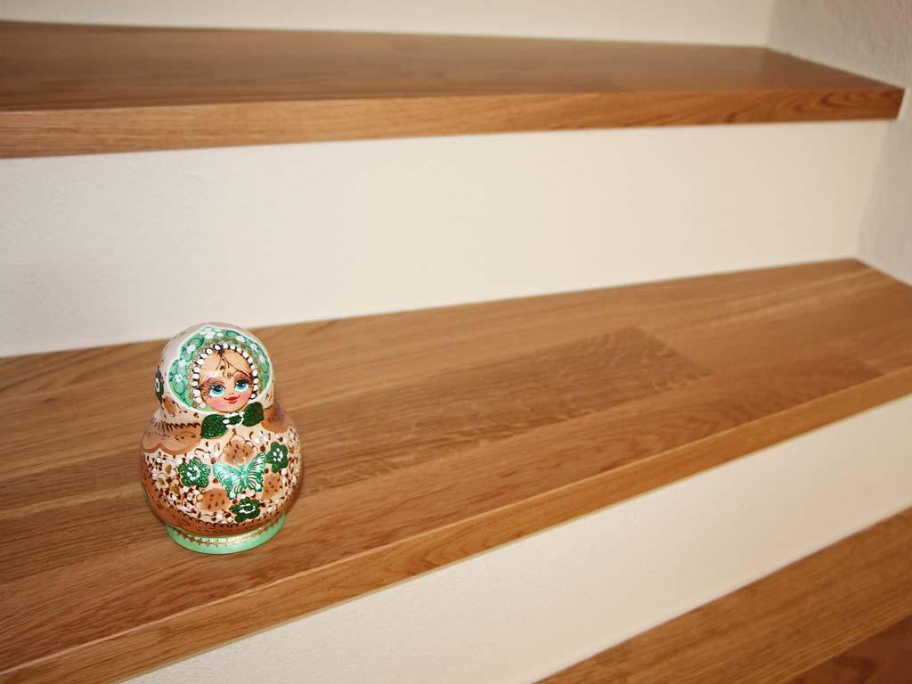 Treppe Parkett Eiche