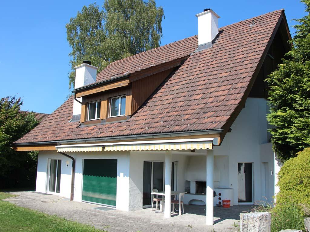 Malerarbeiten und Parkett, EFH bei Winterthur