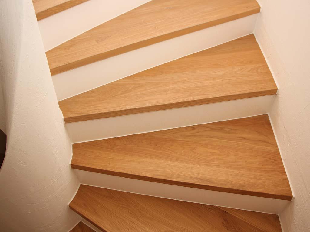 Treppenstufen Parkett Eiche von Adler