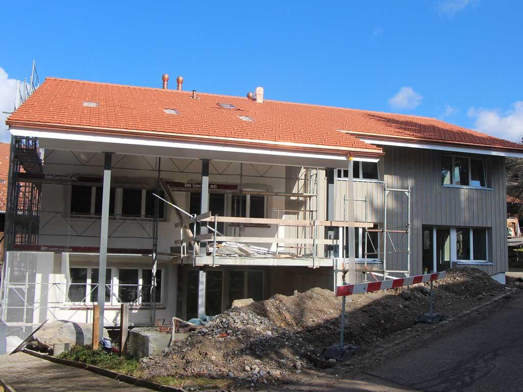 Neubau Hittnau Parkett