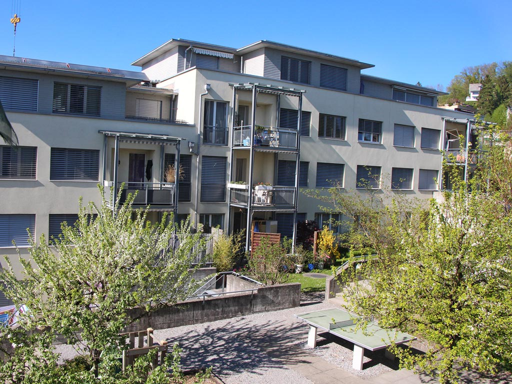 Überbauung Stäfa diverse Wohnungen