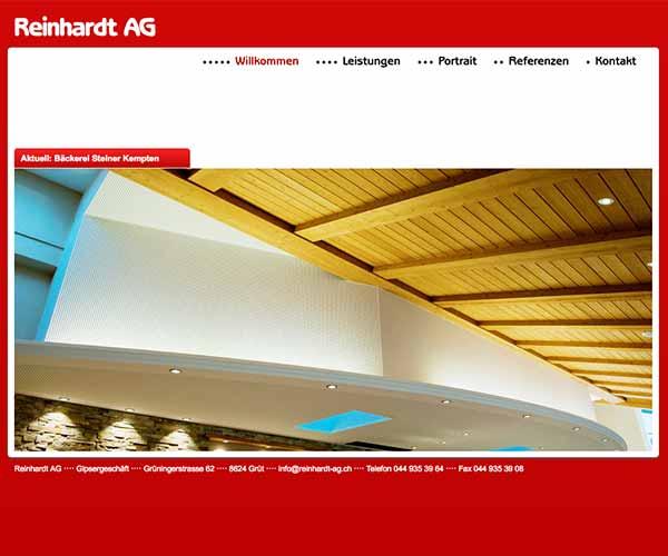 Gipsergeschäft Franz Reinhardt AG