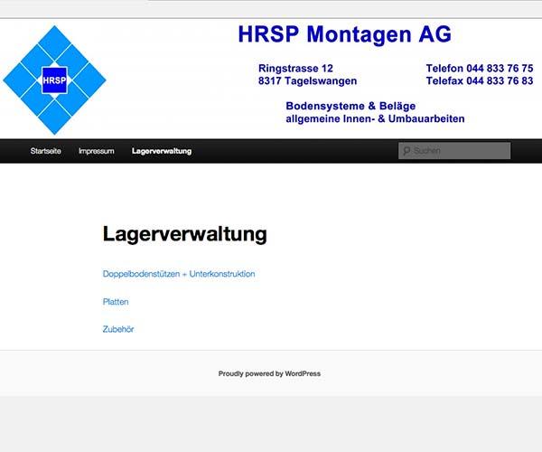 HRSP Montagen