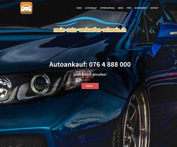 Mein Auto verkaufen Schweiz Autoankauf Autoexport