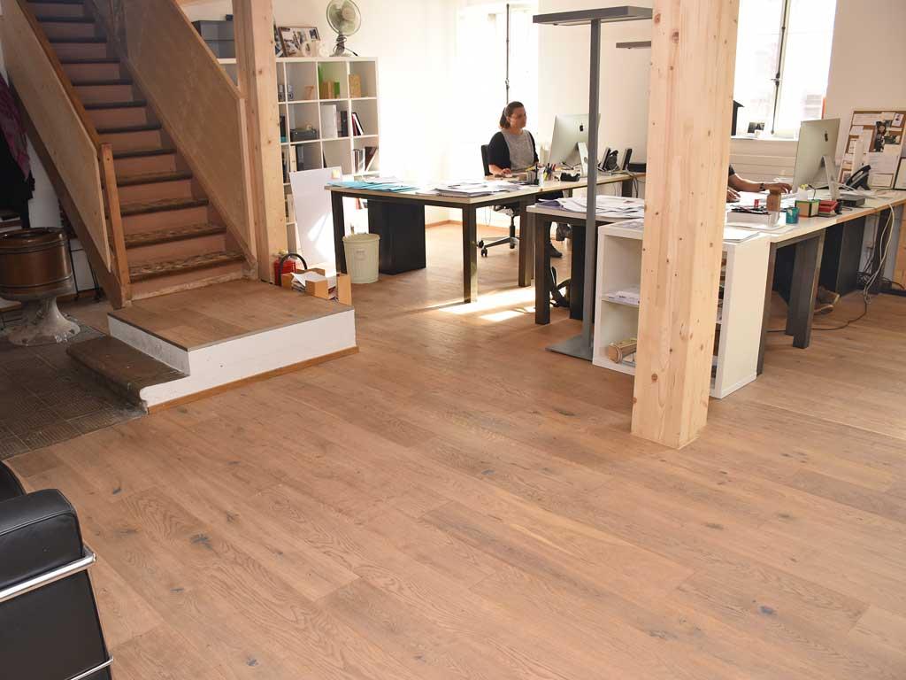 Architektur-Büro Fehraltorf Renovation Parkettboden Chris Stettler
