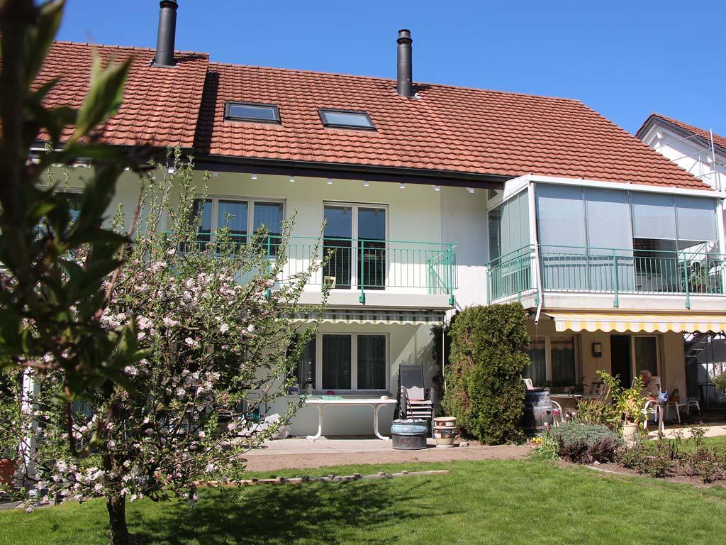 Aussenarbeiten Fassade Einfamilienhaus Dübendorf