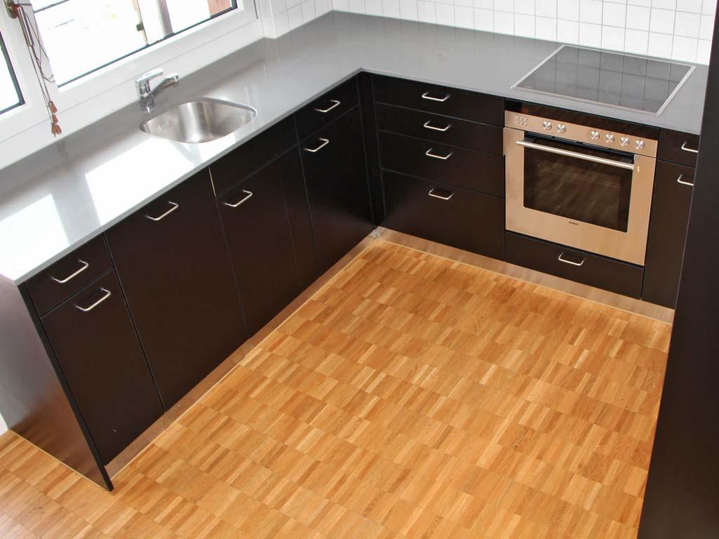 Parkettboden schleifen Versiegelung Küche Uster Chris Stettler